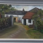 The Old Farm Oil Painting