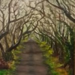 Dark Hedges Oil Painting by Frances Blake