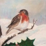 Robin Red breast (oils)