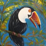 Toucan (acrylics)