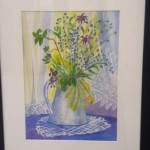 Jug of Wild Flowers (watercolour)