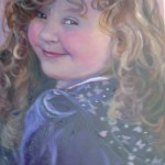 childrens portrait Artist Dublin, murals and statues dublin, portraits by Frances Blake
